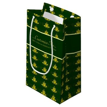 The Claddagh (Gold) Small Gift Bag