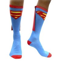 Target : Superman Men's Caped Socks : Image Zoom