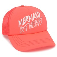 Billabong Mermaid Trucker Hat - Womens Hat - Pink - One