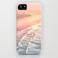 pink ocean iPhone & iPod Case by  Alexia Miles photography