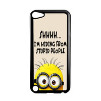 Minion Quote For iPod Touch 5 Case