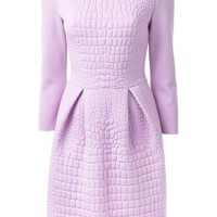 Fendi Embossed Crocodile Effect Dress - Liska - Farfetch.com