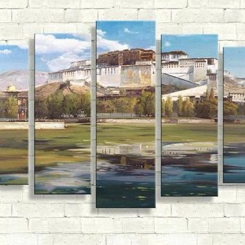 5 pieces canvas art fight club river island 3 pieces wall art captain america painting