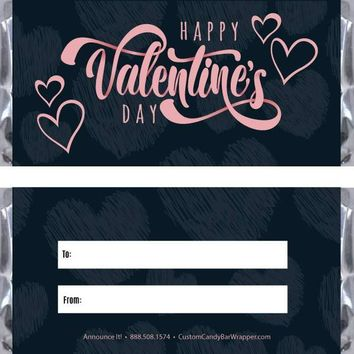 Cute Valentine's Day Candy Bar Wrapper