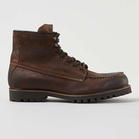 Tan Leather Lace Boots - Men's Boots - Shoes and Accessories