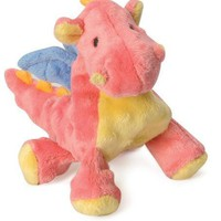 goDog Baby Dragon Plush Dog Toy Size: Small Coral