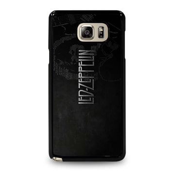 LED ZEPPELIN LYRIC Samsung Galaxy Note 5 Case Cover