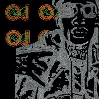 Wiz Khalifa Lyric Poster - 24x36 - Custom Handmade with Lyrics - Silver Orange and Green - Artist - Kush & OJ - Rap Music - Musician - Wiz