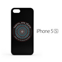 Twenty One Pilots Black Logo iPhone 5 / 5s Case
