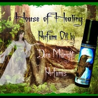 HOUSE of HEALING: Fantasy Perfume inspired by The HOBBIT, Iris Flowers, Linden Blossoms, Woods, and Greens