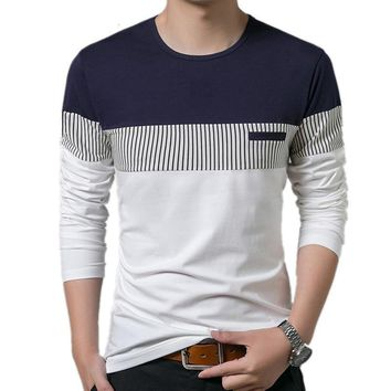 Men's Long Sleeve O-Neck T-Shirt