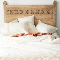 Plum & Bow Pranati Carved Headboard
