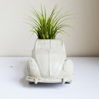 Car Planter, Cement, Concrete, Father's Day, Air Plant, Succulent Planter