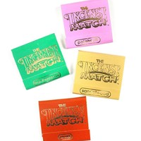 Incense Matches - Woody & Earthy (Pack of 4 Scents)