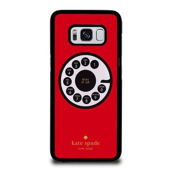 KATE SPADE ROTARY DIAL UP Samsung Galaxy S8 Case Cover