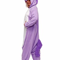 Cartoon Romper My Little Pony Purple Unicorn Jumpsuits Costumes Adult Onesuit Pajamas Halloween Christmas Party Costumes