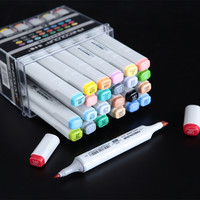 LifeMaster Finecolor Large Capacity Professional Art Marker for Animation Design Twin Markers Alcohol Based Ink