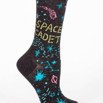 Space Cadet Women's Crew Socks