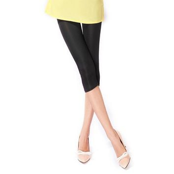 New Arrival Sexy Solid Candy Neon Women Summer Leggings High Stretched Jeggings Fitness Clothing Ballet Cropped Trousers