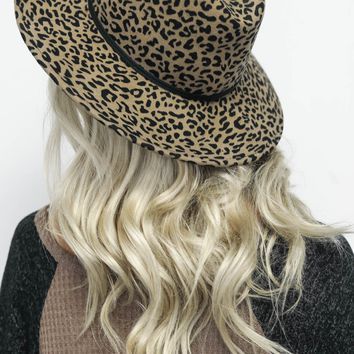 These Days Leopard Print Hat