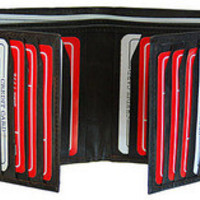 Genuine Leather Bi-Fold Wallet - Assorted Colors