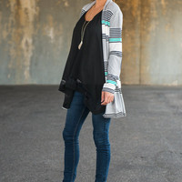 What's It All About Cardigan, Gray