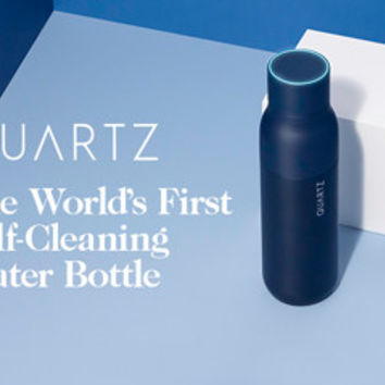 QUARTZ Bottle - World's First Self-Cleaning Bottle