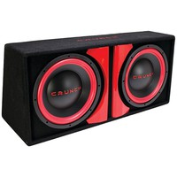 """Crunch Cr-212a Powered Dual 12"""" Subwoofer System"""