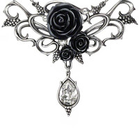 """Bacchanal Rose"" Necklace by Alchemy of England"