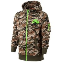 Nike Heritage Camo FZ Hoodie - Men's at Foot Locker