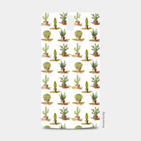 Cute Cactus Pattern One Plus One Cases | Artist : Seema Hooda