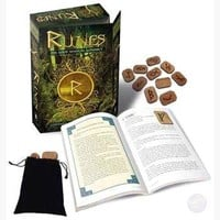 Runes: Gods Magical Alphabet Deck & Book