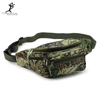 Sports Camouflage Military Waist Bag Hot Outdoor Tactical Camping And Hiking Army Cycling Chest Molle Bag