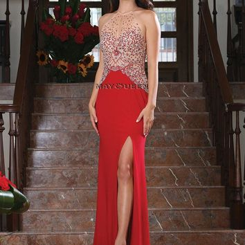 Evening Long Gown Formal Prom Dress
