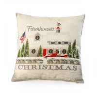 FARMHOUSE CHRISTMAS PILLOW