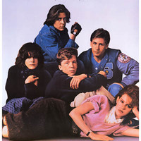Breakfast Club Movie Poster 11x17
