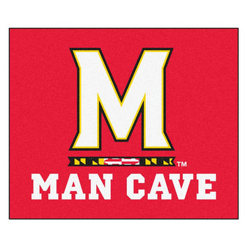 Maryland Terps NCAA Man Cave Tailgater Floor Mat (60in x 72in)