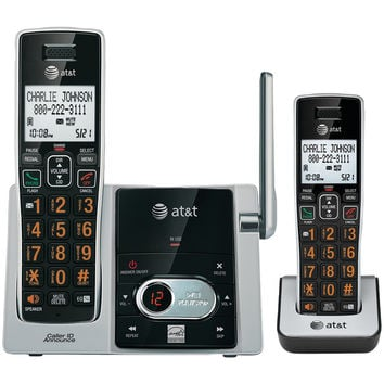 At&t Cordless Answering System With Caller Id And Call Waiting (2-handset System)