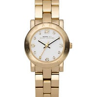 Marc By Marc Jacobs Ladies Amy Mini Gold Watch