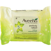 Positively Radiant Makeup Removing Wipes 25 Ct