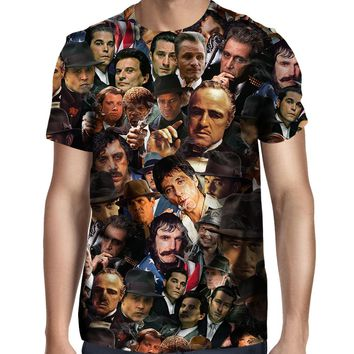 Gangsters Collage T-Shirt