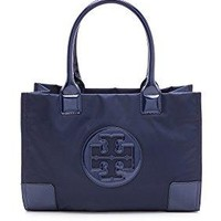 Tory Burch Mini Ella Tote - French Navy