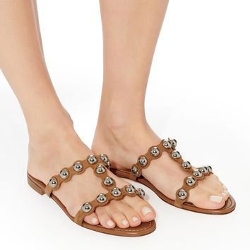 Lia Studded Suede Sandals