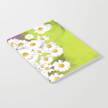 Fresh as a daisy Notebook by anipani
