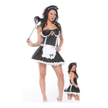 Cute Maidservant Costume Uniform Sexy Lingerie Underwear Cosplay