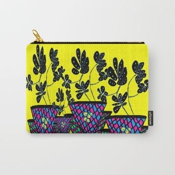 Mothers Flower Carry-All Pouch by Azima