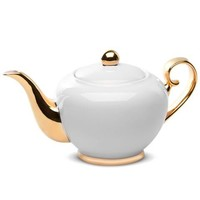 Cristina Re - Signature Teapot Ivory & Gold | Peter's of Kensington