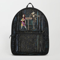 Halloween Town | Jack | Sally | Christmas | Nightmare Backpack by Azima