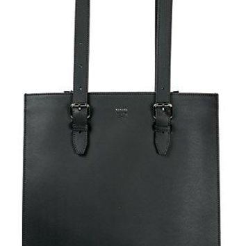 Fendi men's leather bag handbag tote shopping black