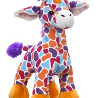 Webkinz Sunset Giraffe Plush